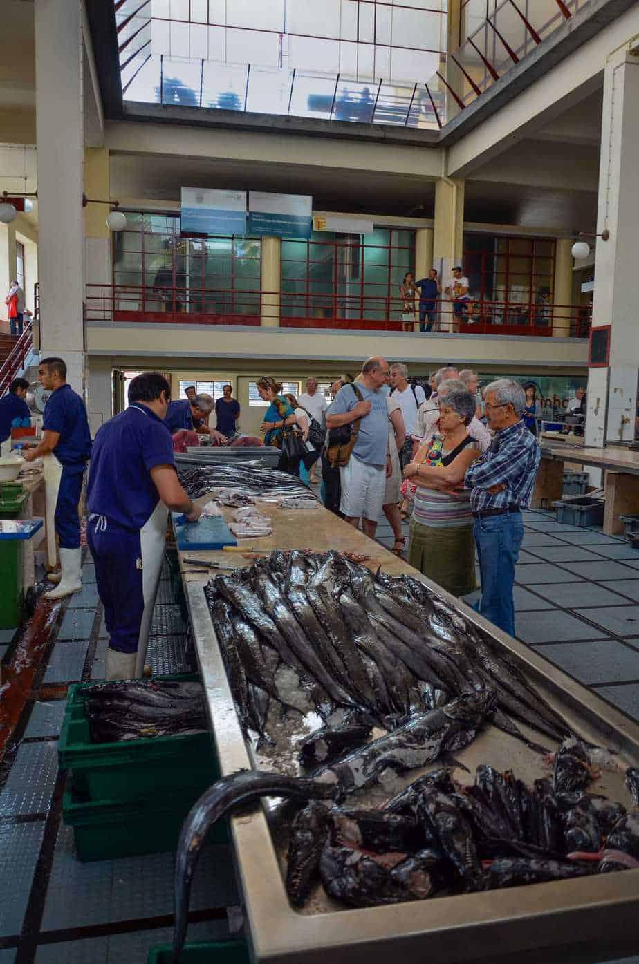 Funchal Market Dos Lavradores - Fish market