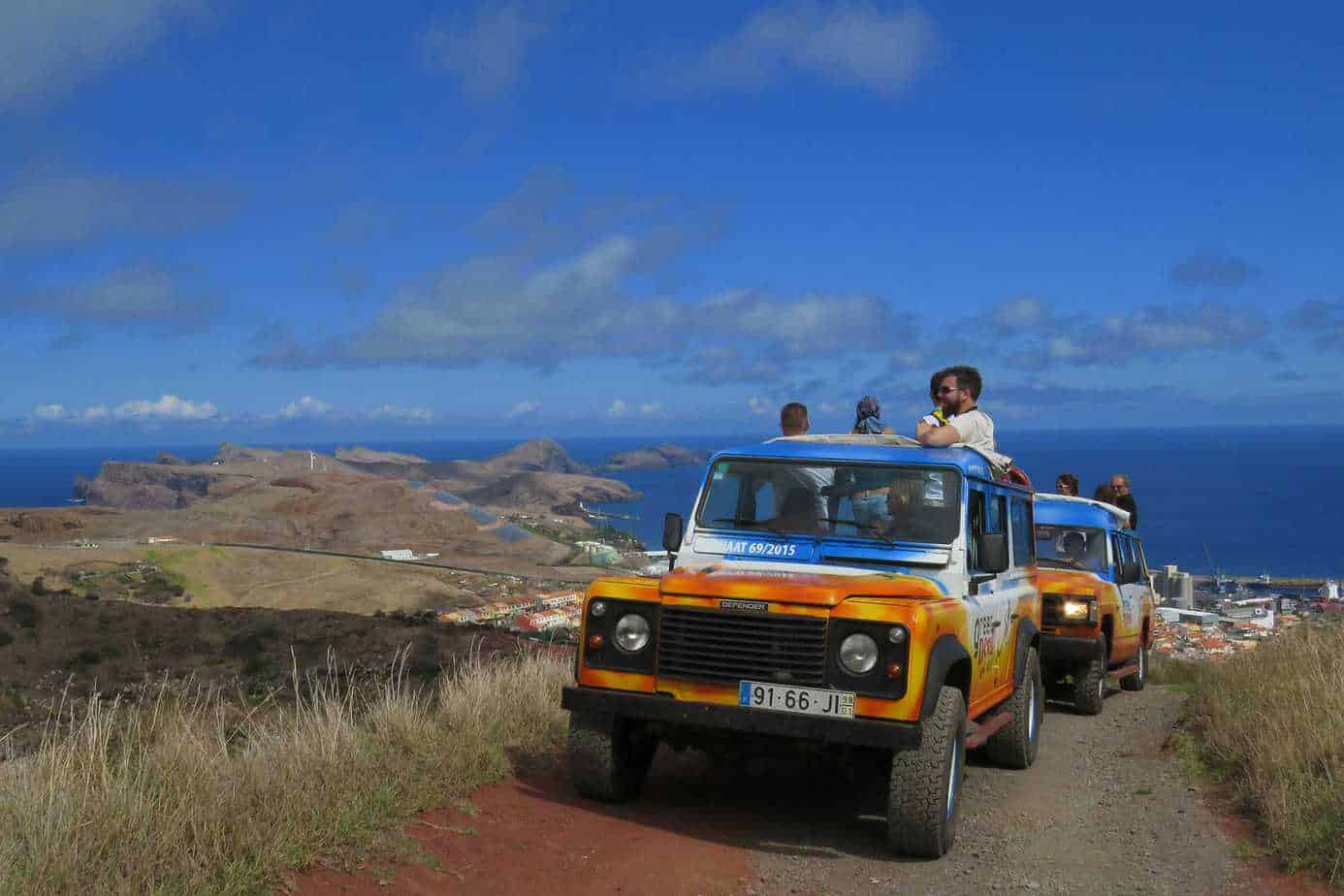 Jeep excursion Canical region - east of the island