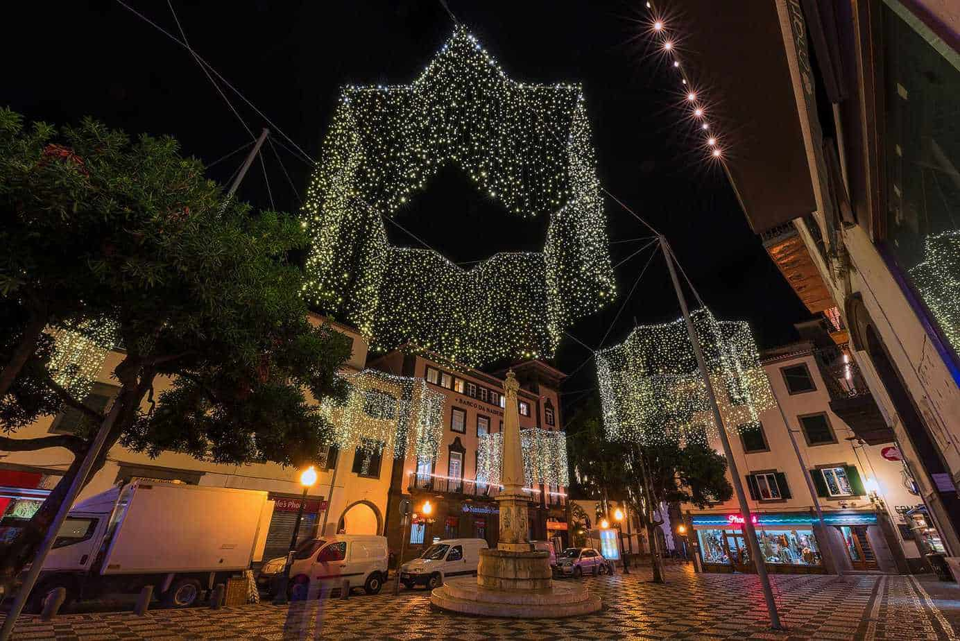 Christmas decorations Funchal