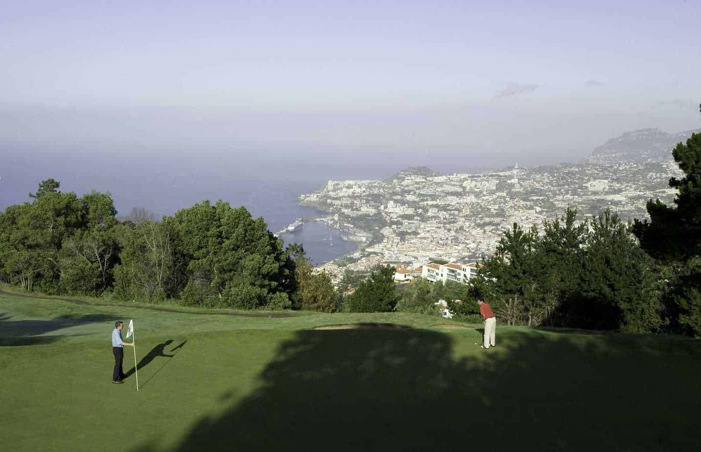 Golf course Palheiro in Funchal