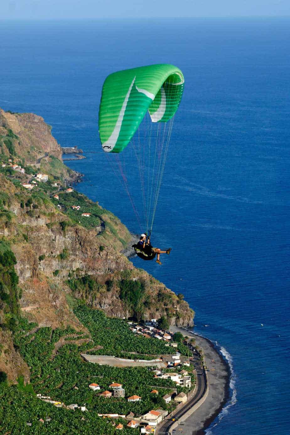 Paragliding - Madalena Do Mar