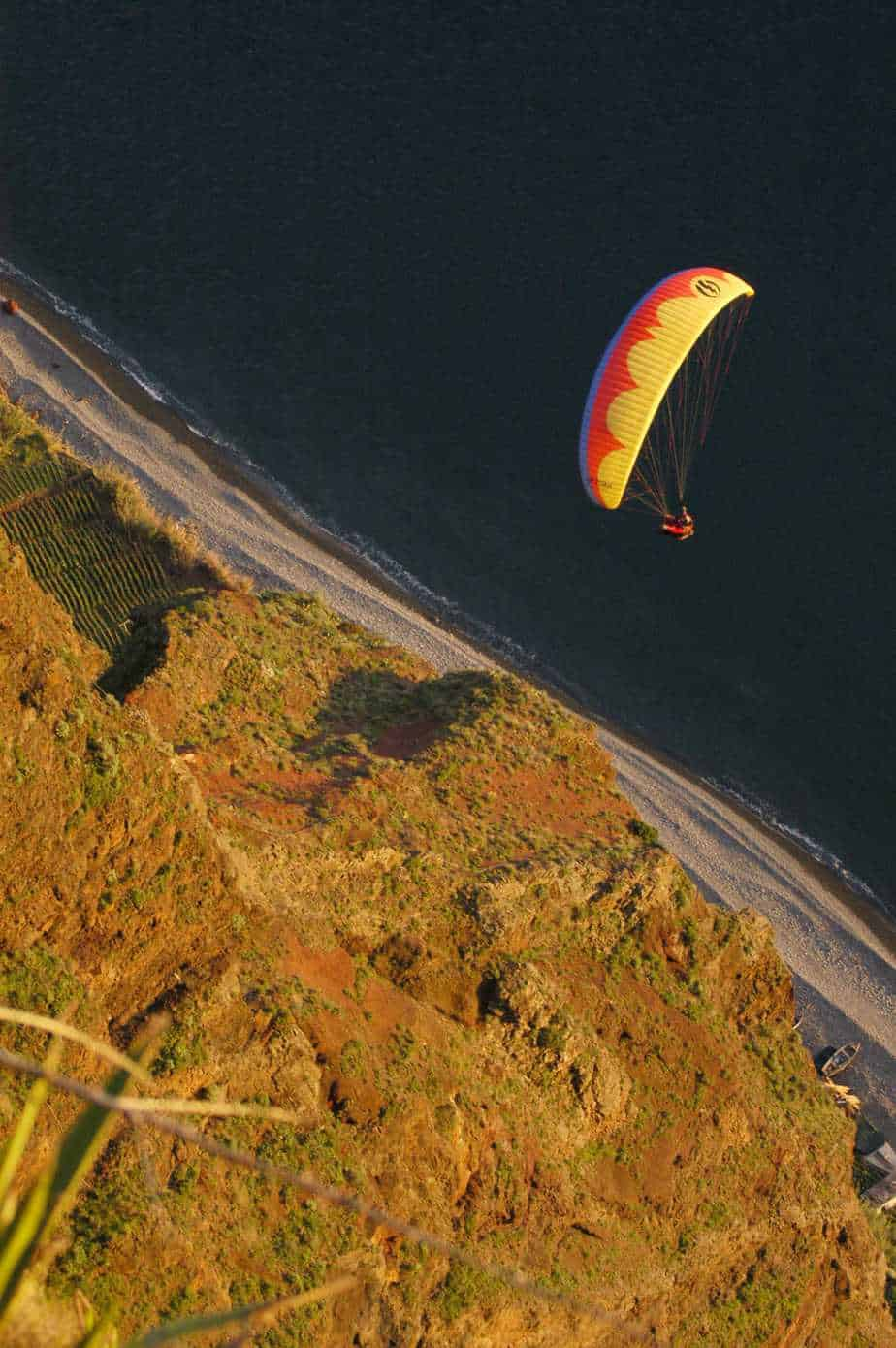 Paragliding - Paul Do mar