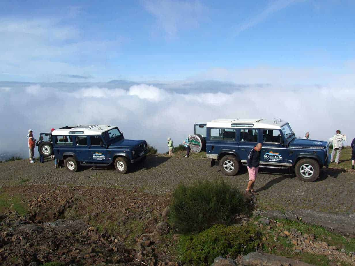 Jeep excursion - stop off above the cloudline