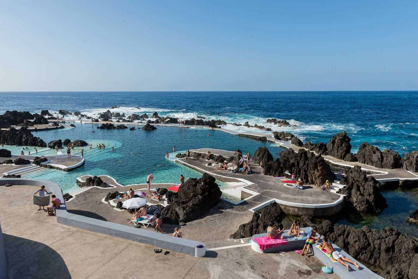 Porto Moniz natural swimming pool