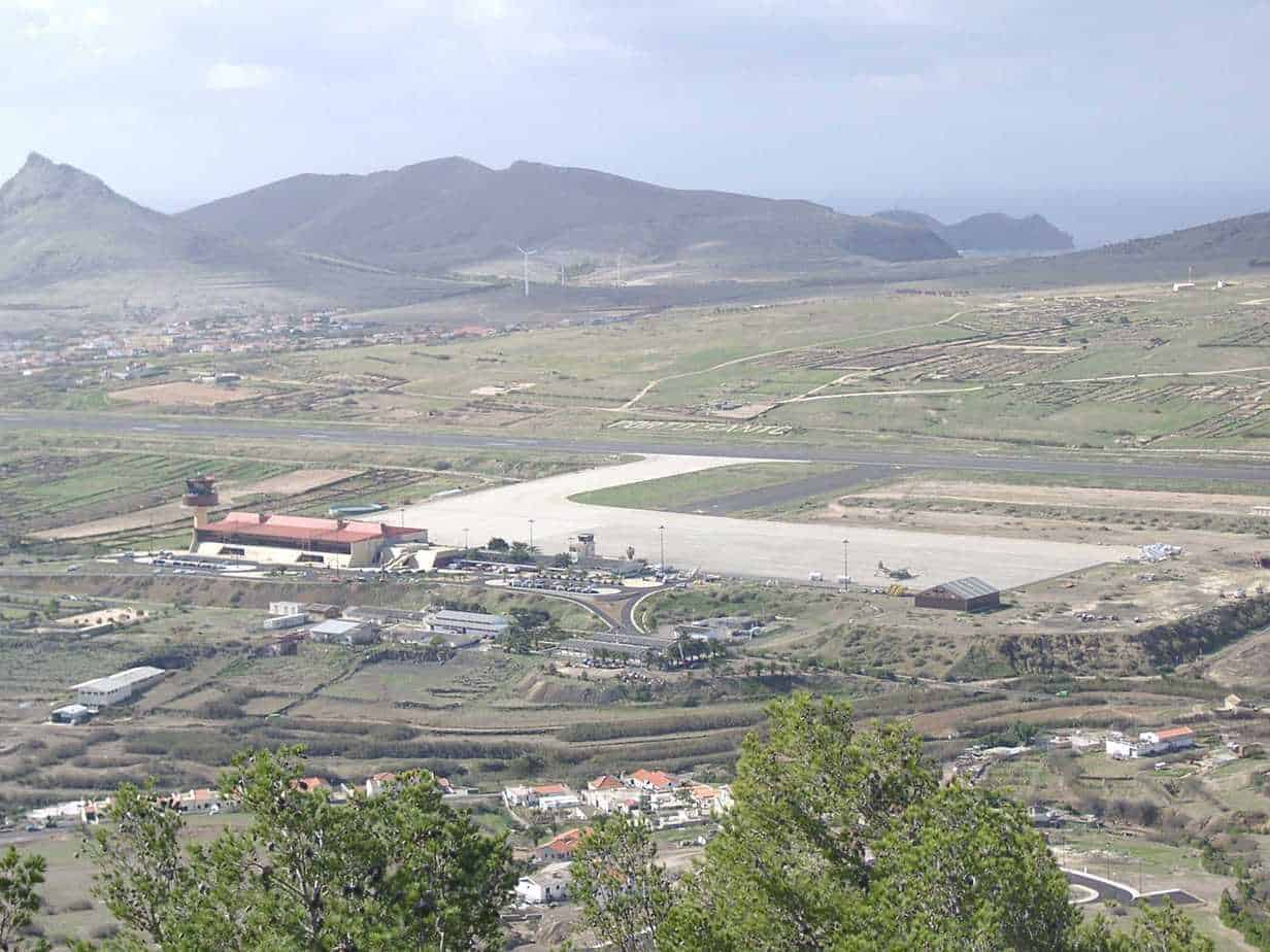 Old Madeira airport